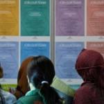 FOTO LOWONGAN KERJA : Ramainya Bursa Kerja Undip Semarang…