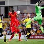 Burton Albion vs Liverpool di ajang Piala Liga Inggris. (Reuters/Darren Staples)