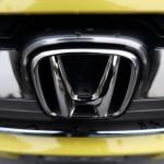 Emblem Honda. (Autoblog.com)
