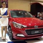 Hyundai All New I20 di GIIAS 2016. (Okezone.com)