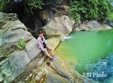 Objek wisata alam Kedung Goro di Desa Bolo, Kecamatan Wonosegoro, Boyolali.(Aries Susanto/JIBI/Solopos)