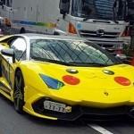 MODIFIKASI MOBIL:Lamborghini Disulap Jadi Pikachu Demi Pokemon Go