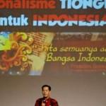 SEMINAR SEMARANG : Anton Medan Ingatkan Peran Tionghoa dalam Kemerdekaan RI
