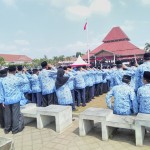 PNS BOYOLALI : BKD Bina 2 Pegawai yang Duduk-duduk Saat Upacara HUT RI