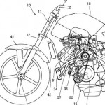 Paten sepeda motor supercharger Honda. (Morebikes.co.uk)