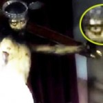 Patung Yesus seolah membuka mata (Daily Star)