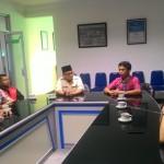 Pemuda Muhammadiyah saat berkunjung ke Griya Solopos (Ahmad Baihaqi/JIBI/Solopos.com)