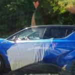 Penampakan Toyota C-HR diuji jalan. (Indianautosblog.com)