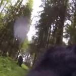 Penampakan makhluk diduga bigfoot (Daily Mail)