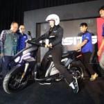 SEPEDA MOTOR NASIONAL : Lusa, Skutik Gesits Dijajal Presiden Jokowi di Solo