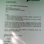 BAHAN BAKAR MINYAK : Ini Surat Resmi Larangan SPBU Jual BBM Jenis Premium ke Pengecer
