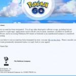 Surat pemblokiran akun Pokemon Go dari Niantic. (Ownedcore.com)