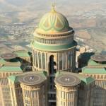 Ilustrasi hotel terbesar dunia di Arab Saudi. (Istimewa)