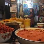 Tutik menjual bumbu dapur giling di kios Pasar Beringharjo, Senin (22/8/2016). (Bernadheta Dian Saraswati/JIBI/Harian Jogja)