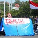 PABRIK SEMEN KENDENG : Polda Jateng Bantah Musala dan Alquran Dibakar