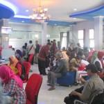 Suasana antrean saat menunggu giliran membuat EKTP di kantor Dinas kependudukan dan Catatan Sipil Kabupaten Bantul, Kamis (24/8/2016). (JIBI/Irwan A. Syambudi)