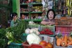 Pedagang menjual berbagai macam sayuran di Pasar Kranggan, Senin (29/8/2016). (Bernadheta Dian Saraswati/JIBI/Harian Jogja)