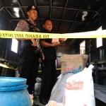 Sejumlah barang bukti hasil penggrebekan pabrik mie bercampur boraks diamankan di Polres Kulonprogo, Kamis (11/8/2016). (Sekar Langit Nariswari/JIBI/Harian Jogja)
