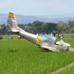 PESAWAT JATUH : Begini Kronologi Jatuhnya Pesawat Latih di Cirebon