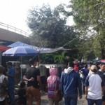 Pengunjung memadati Sunday Market Manahan, Minggu (28/8/2016) pagi. (Irawan Sapto Adhi/JIBI/Solopos)