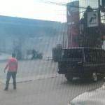 Kebakaran di SPBU Balapan (istimewa/Facebook)