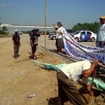 TOL SOLO-KERTOSONO : Warga Ngampunan Sragen Blokade Proyek Tol