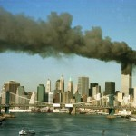Serangan 11 September 2001 di kompleks gedung World Trade Center (WTC), New York City. (JIBI/Solopos/Reuters)