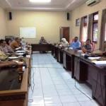 Suasana rapat kerja Komisi C DPRD Gunungkidul dengan Disdikpora, DPU dan RSUD Wonosari di ruang komisi Gedung DPRD, Kamis (15/9/2016) . (David Kurniawan/JIBI/Harian Jogja)