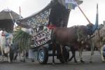 Ratusan gerobak sapi mengikuti festival gerobak sapi 2016 di di Stadion Sultan Agung, Dusun Pacar, Desa Timbulharjo, Kecamatan Sewon, Bantul. Sabtu (24/9/2016)(Irwan A. Syambudi/JIBI/Harian Jogja)