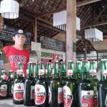 Botol-botol miras yang disita Satpol PP Sleman (Abdul Hamied Razak/JIBI/Harian Jogja)