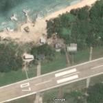 Pangkalan militer rahasia yang terekam citra satelite Google Maps. (Istimewa/Google)