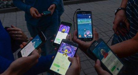Aktivitas bermain Pokemon Go (Sputiknews.com)