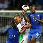 Belarusia vs Prancis (REUTERS/Vasily Fedosenko)
