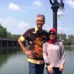 Ganjar dan Siti Atikoh piknik ke Jogja.(Facebok.com-Ganjar Pranowo)