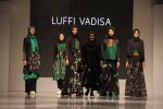 Luffi Vadisa, desainer Jogja dengan sejumlah desain baju dalam gelaran Jogja Fashion Week 2016 (Holy Kartika N.S/JIBI/Harian Jogja)