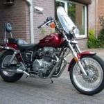 Honda CMX450 Rebel 1987. (Bikepics.com)