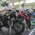SEPEDA MOTOR HONDA: AHM Suguhkan New CB150R Edisi Spesial AHRT