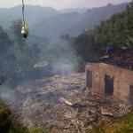 KEBAKARAN PACITAN : 1 Rumah di Arjosari Ludes Dilalap Api, Ini Penyebabnya