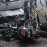 KECELAKAAN WONOGIRI : Tabrak Truk di Pertigaan Ngadirojo, Seorang Mahasiswa Tewas