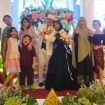 Ivan Fadilla menikahi Sarni (Twitter Tessa Kaunang)