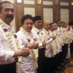 Para calon kepala daerah dalam Pilkada 2017 menerima rekomendasi dari DPP PDIP di Hotel Santika, Semarang, Selasa (20/9/2016). (Facebook.com-Dance Palit)