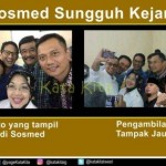 Parodi selfie cagub-cawagub Pilkada Jakarta. (Instagram.com)