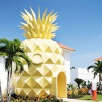 Rumah nanas SpongeBob (Instagram nickresortpuntacana)