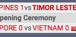 PIALA AFF U-19 : Vietnam Ditahan Singapura, Timor Leste Bekuk Filipina 2-1