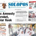 SOLOPOS HARI INI : Tax Amnesty Meroket, Dolar Keok