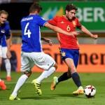 Spain v Liechtenstein. (REUTERS/Eloy Alonso)