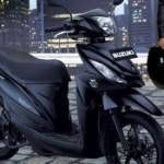 SEPEDA MOTOR SUZUKI : Susul Satria, Address Ikut Berseragam Black Predator