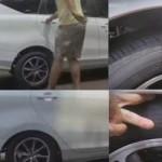 Toyota Calya sebelum dan sesudah diisi penumpang penuh (Youtube)