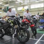 New Honda CB150R StreetFire. (Istimewa)