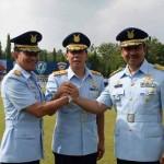 Prosesi serah terima jabatan Danlanud Adisutjipto yang dilaksanakan di lapangan Jupiter Lanud Adisutjipto, Rabu (14/9/2016). (Foto istimewa)